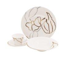 Artisan Bone China 5 Piece Place Setting (Set of 4)