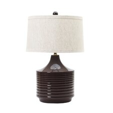 """24"""" H Table Lamp with Drum Shade"""