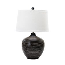 """Fangio 22.5"""" H Table Lamp with Drum Shade"""