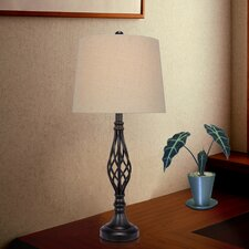 "27"" H Table Lamp with Empire Shade"
