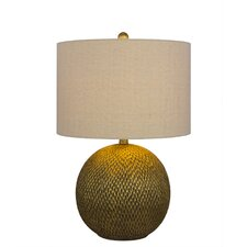 """Resin 23.5"""" H Table Lamp with Drum Shade"""