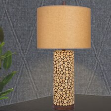 """31"""" H Wood Table Lamp"""