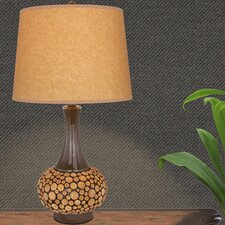 """24"""" H Wood Table Lamp"""