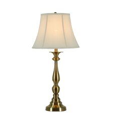 """Metal 31"""" H Table Lamp with Bell Shade"""