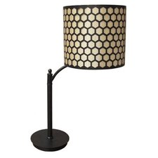 """Contemporary 28"""" H Table Lamp with Drum Shade"""