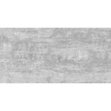 "Thin Porcelain 23.6"" x 11.8"" Porcelain Field Tile in Steel Gray"
