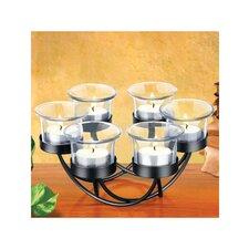Decorative Circular Candle Holder Set
