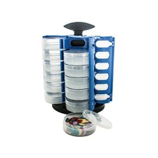 24-Piece Multi Purpose Spinning Caddy Set