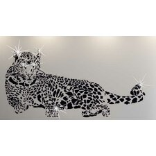Swarovski Leopard Animal Wall Sticker