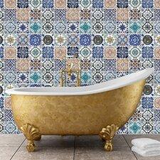 Wandbild Mosaic Tile