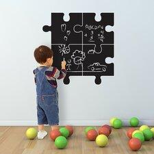 Wandsticker Chalkboard Puzzle