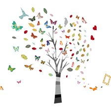 Nursery Room Photo Tree Wall Sticker