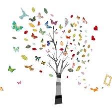 Wandsticker Nursery Room Photo Tree