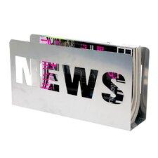 Metal News Magazine Rack