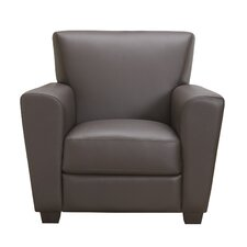 Cameo Top Grain Leather Arm Chair