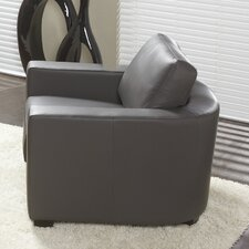 Marquis Top Grain Leather Arm Chair
