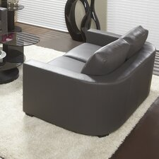 Marquis Top Grain Leather Loveseat