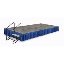 Transfold Platform Box Pleat Stage Skirt