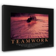 Classic Teamwork Rowers Motivational Graphic Art