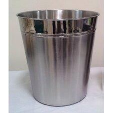 Round Stainless Steel Wastebasket