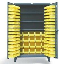 """78""""H x 48""""W x 24""""D 2 Door Storage Cabinet"""