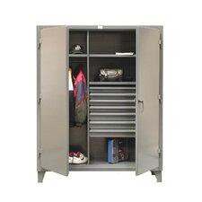 """78""""H x 36""""W x 24""""D 2 Door Storage Cabinet"""