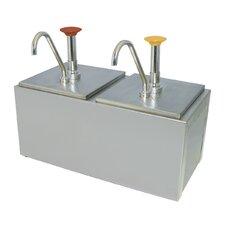 Double Pump Condiment Dispenser