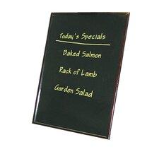 Wood Frame Write-On Lap Board Chalkboard, 3' H x 2' W