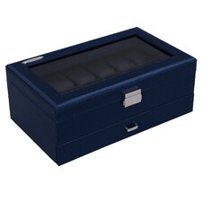 12 Piece Watch/Jewelry Organizer Box