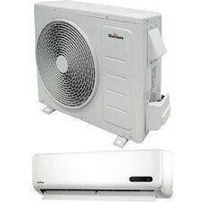 Ductless Mini Split Heat Pump 12000 BTU Air Conditioner with Remote
