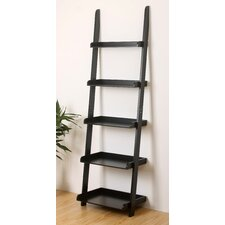 "70"" Leaning Bookcase"