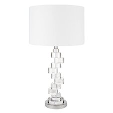 """Crystal Stepping Stones 29"""" H Table Lamp"""