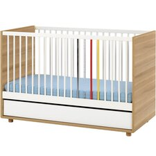 2-in-1 Umwandelbares Kinderbett Evolve