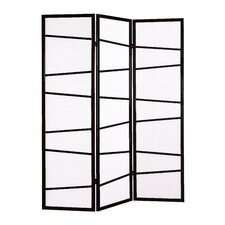 "71"" x 51"" Screen 3 Panel Room Divider"
