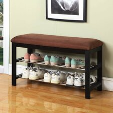 Wood Shoe Bench