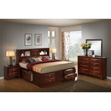 Emily Storage 5 Piece Bedroom Set