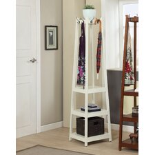 Vassen 3-Tier Storage Shelve Coat Rack