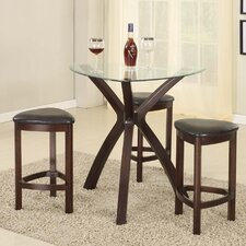4 Piece Counter Height Pub Table Set
