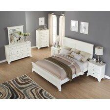 Leveno Panel 5 Piece Bedroom Set