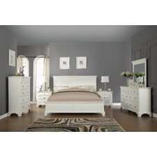 Leveno Panel 6 Piece Bedroom Set