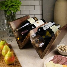 Artisan Woods 6 Bottle Tabletop Wine Rack