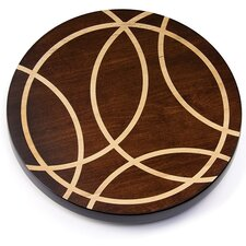 Artisan Woods Intersecting Lines Lazy Susan