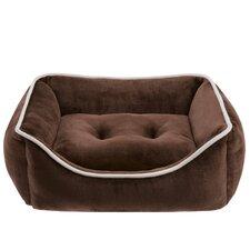 Sawyer Plush Rectangular Dog Pillow