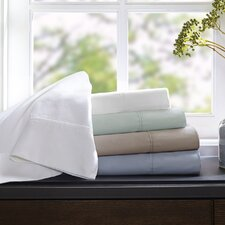 Wrinkle Warrior 400 Thread Count Solid Cotton Sheet Set