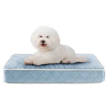 Tavis Quilted Memory Foam Orthopedic Napper Pillow Bed Dog