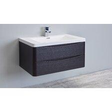 "Smile 36"" Single Modern Bathroom Vanity Set"