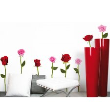 26 Piece Roses Wall Decal