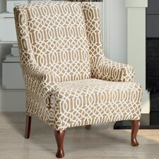 Abigail Wing Chair Slipcover