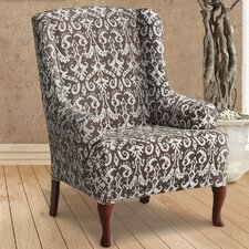 Bombay Wing Chair Slipcover