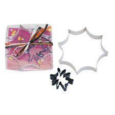2 Piece Spider Web Cookie Cutter Set